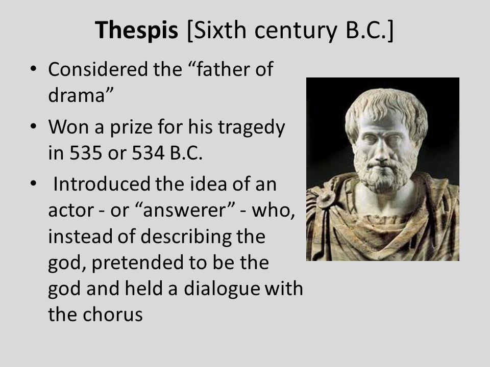 Thespis [Sixth century B.C.]